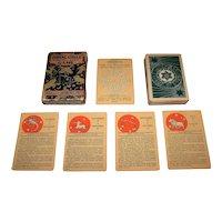 """Whitman Publishing Co. """"Zodiac Circle Horoscope Game,"""" c.1931"""