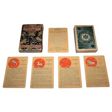 "Whitman Publishing Co. ""Zodiac Circle Horoscope Game,"" c.1931"