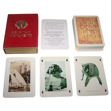 "Fournier ""Egyptian Monuments"" Playing Cards, c.1957"