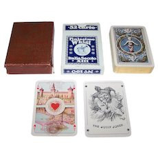 "Piatnik ""Finissime Whist No. 190: Italia Secolo XIII"" aka ""Dante and Beatrice"" Playing Cards, c.1923"
