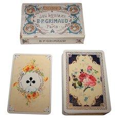 "Grimaud ""Jeu Louis XV"" Playing Cards, No. 1502, c.1890-1900"