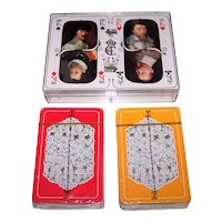 """Double Deck Carta Mundi """"King Christian IV"""" Playing Cards, 400th Anniversary Commencement of Reign, Thora Fisker Design, c.1988"""