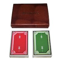 "Double Deck USPC ""J.E. Caldwell & Co."" Playing Cards, c.1917"