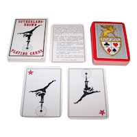 """Sutherland Brown"" Transformation Playing Cards, Laura Sutherland Designs, Ltd. Ed. (___/3000) c.1977"