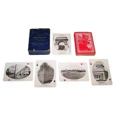 "A.C. Bosselman & Co. ""New York Views"" Souvenir Playing Cards, [Standard Playing Card Co. Maker], August Loeffler Photographs, c.1910"