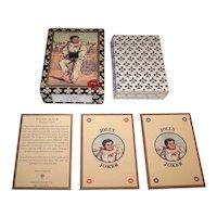 "Il Meneghello ""Toscana"" Facsimile Transformation Playing Cards [Original: Adolfo Matarelli ""Album,"" c.1855], Cavallini & Co. Edition, c.1996"