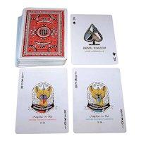 "USPC ""Animal Kingdom"" Playing Cards, World Wildlife Fund Promotion, Theory11 Publisher, Hatch Designs Artwork, c.1986"