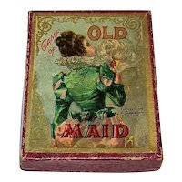 "McLoughlin Bros. ""The Game of Old Maid"" Card Game, c.1898"