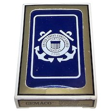 """Gemaco """"United States Coast Guard"""" Playing Cards"""