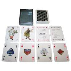 "Masenghini ""Anton Chekhov"" Playing Cards, San Paolo Instituto Bancario, Paolo Frescu Designs, c.1983"