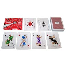 """""""Callaway"""" Playing Cards, Team Callaway Illustrations. Maker Unknown"""