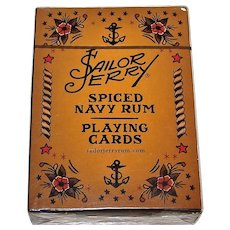 """Sailor Jerry"" Pin-Up Playing Cards, Sailor Jerry Spiced Navy Rum, Norman Keith ""Sailor Jerry"" Collins Tattoo Designs"