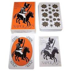 """Coeur """"Napoleon"""" Playing Cards, Glaux Verlag Christine Jäger Publisher, Gerlinde Boehnisch-Metzmacher Designs, Ltd. Ed. (_____/10,000), c.1996"""