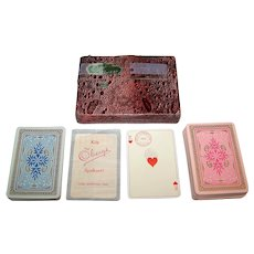 Double Deck Obergs Standard Swedish Pattern Playing Cards, c.1933