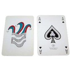 """Speelkaartenfabriek Nederland """"Gemeentewaterleidingen"""" (""""Municipal Waterworks"""") Playing Cards, c.1960s"""