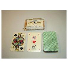 "Piatnik ""Kasino-Pikett"" Playing Cards, Skat Deck, Viennese Large Crown Pattern, w/ Wrapper, c.1919-1924"