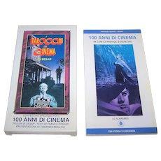 "Lo Scarabeo ""Tarocchi del Cinema di Sesar"" Major Arcana Tarot Cards, Sergio Sarri aka ""Sesar"" Designs, c.1995"