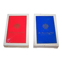 "Twin Decks Gemaco ""Mar-a-Lago"" Playing Cards"