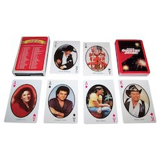"""Scotco-Hello Darlin """"The Best of Country Music"""" Playing Cards, c.1982"""