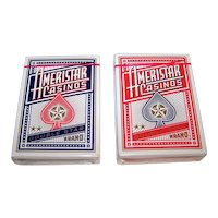 "Twin Decks ""Ameristar"" Playing Cards, Limited Edition, Maker Unknown, 16 Various Artists Designs, c.2003"