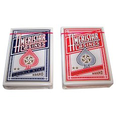 """Twin Decks """"Ameristar"""" Playing Cards, Limited Edition, Maker Unknown, 16 Various Artists Designs, c.2003"""