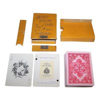 """USPC """"The Nile Fortune Cards"""" Fortune Telling Cards, First Edition, c.1897"""