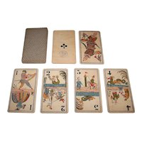 "Grimaud ""Classical Deities"" Tarock Cards, c.1890"