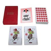 "USPC ""Coricidin"" Playing Cards, Schering Corporation, c.1966"