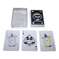 "Sanrio Co., Ltd. ""Badtz-Maru"" Playing Cards, c.1990s"
