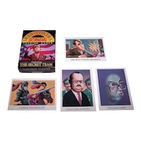 """Eclipse Entertainment """"Iran-Contra Scandal"""" Trading Cards, Christic Institute (Information), Salim Yaqub (Art), Paul Brancato (Text), c.1988"""
