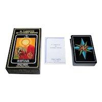 """ItalCards """"Il Tarocco di Sandro Pipino"""" Tarot Cards. Ltd. Ed. (#2929/3000), Sandro Pipino Designs, c.1991"""