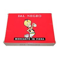 "Dal Negro ""Mercante in Fiera"" Card Game"