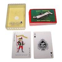 """""""U.S.S. Arizona Memorial"""" Souvenir Playing Cards"""
