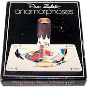 "Grimaud ""Anamorphoses"" Playing Cards, Pino Zac Designs, Anamorphic Art, c.1983"