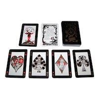 """Carta Mundi """"John Player Special"""" Playing Cards (52/52, 1J), Nick Price Designs, c.1985"""