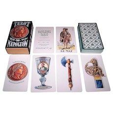 """Il Meneghello """"Tarot de Napoleon"""" Tarot Cards, Osvaldo Menegazzi Designs, Signed Ltd. Ed. (188/500 – North America), c. 1978"""