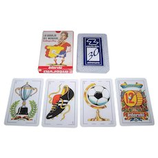 """Interviú """"Mundial"""" Playing Cards, """"New Suits"""" Deck, Gallego & Rey Designs, c.2006"""