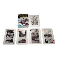 "Aotea Playing Card Co. (A John Dickinson Company) ""New Zealand"" Souvenir Playing Cards, c.1940"