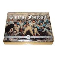 "Double Deck Piatnik ""Vintage Football"" Playing Cards, ""Put Together"" Decks, c.2004"