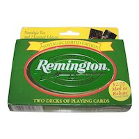 "Double Deck USPC ""Remington"" Playing Cards, ""Put Together"" Decks, c.1998"