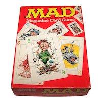 "Parker Bros. ""Mad Magazine Card Game,"" c.1980"