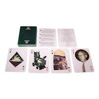 "Naipes Comas ""Difusora Internacional"" Playing Cards (52/52, NJ, 2EC), aka ""Poker de Paces,"" Enric Satue Designs, c.1988"