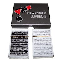 "Double Deck Piatnik ""Supreme"" Playing Cards"