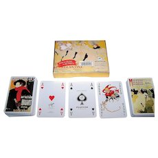 """Double Deck Piatnik """"Toulouse-Lautrec"""" Playing Cards, """"Moulin Rouge"""" and """"Aristide Bruant"""" Posters, c.2004"""
