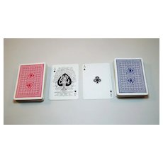 """Double Deck A. Dougherty """"American Whist League No.109"""" Playing Cards, c.1895"""