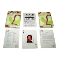 """Hoyle """"Iraqi Most Wanted"""" Playing Cards"""