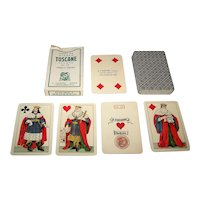 "Viassone ""Toscane -- Grandi"" Playing Cards, c.1955"