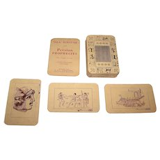 "K&F Industries ""Persian Prophecies Mystic Cards"" Fortune Telling Cards, c.1949"