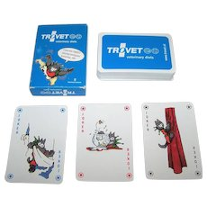 "KZWP ""Trovet"" Playing Cards, Trovet Veterinary Diets, Jan Hendrick Mica Designs, c.2008"