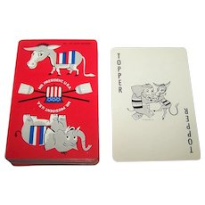 "Décor Note Co. ""Mr. President U.S.A.,"" Red Box Cards Only, c.1960"